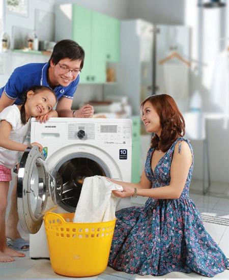 Sử dụng máy giặt hiệu quả
