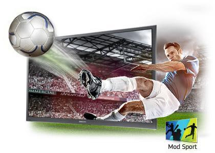 Xem thể thao qua màn hình samsung